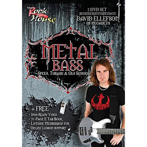 Rock House David Ellefson of Megadeth Metal Bass Speed, Thrash & Old School DVD-thumbnail