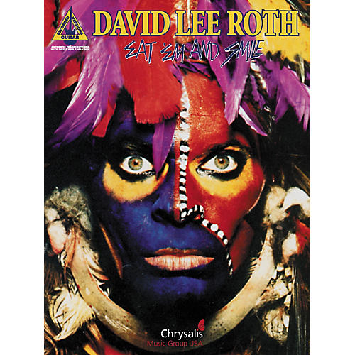 Hal Leonard David Lee Roth Eat 'Em & Smile Guitar Tab Songbook-thumbnail
