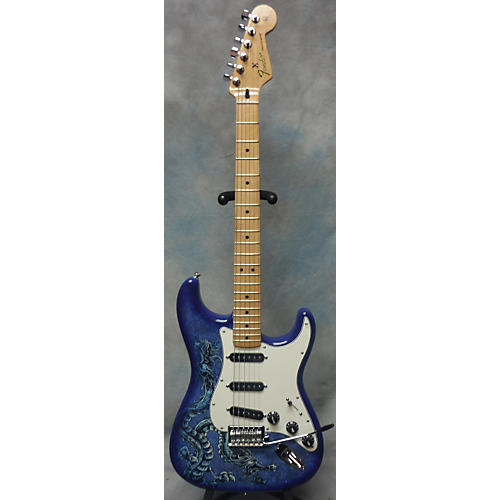 Fender David Lozeau Limited Edition Stratocaster Solid Body Electric Guitar-thumbnail