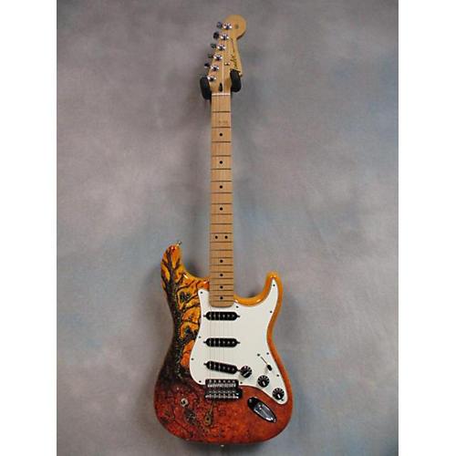 Fender David Lozeau Mexi Strat Solid Body Electric Guitar