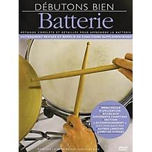 Music Sales Débutons Bien: Batterie (Absolute Beginners: Drum) Music Sales America Series DVD