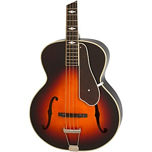 Epiphone De Luxe Classic Acoustic Electric Bass Guitar by Epiphone