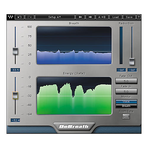 Waves DeBreath Native/TDM/SG Software Download-thumbnail
