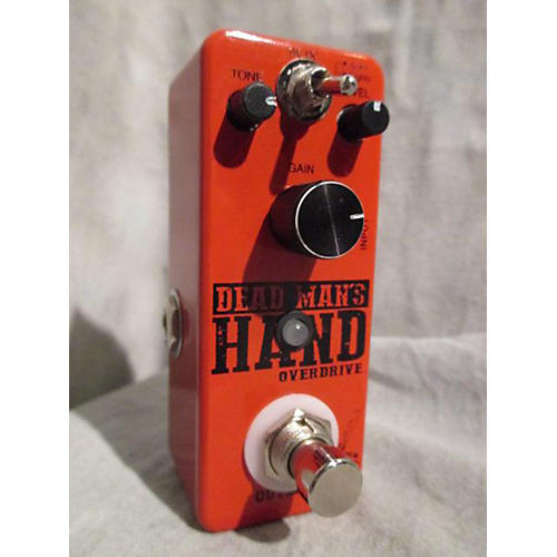 Outlaw Effects Dead Man's Hand Overdrive Effect Pedal