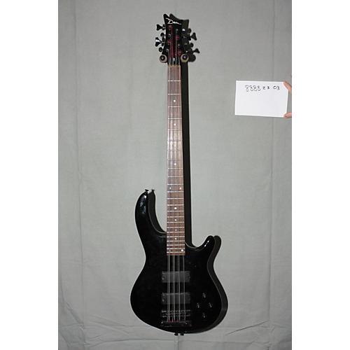 Used Dean Edge 8 8-String Electric Bass Black-thumbnail