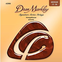 Dean Markley 2006 Vintage Bronze, Medium, 13-56