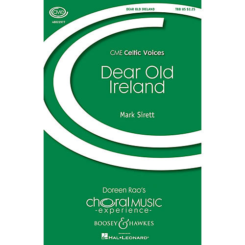 Boosey and Hawkes Dear Old Ireland (CME Celtic Voices) TBB composed by Mark Sirett