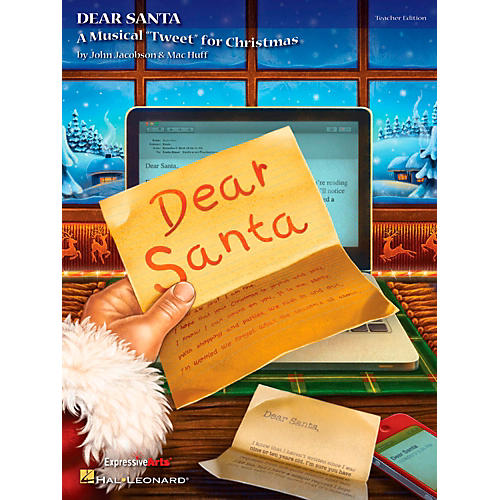 Hal Leonard Dear Santa - A Musical Tweet for Christmas Teacher's Edition-thumbnail