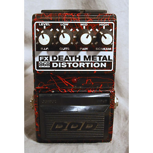 used dod death metal distortion effect pedal guitar center. Black Bedroom Furniture Sets. Home Design Ideas