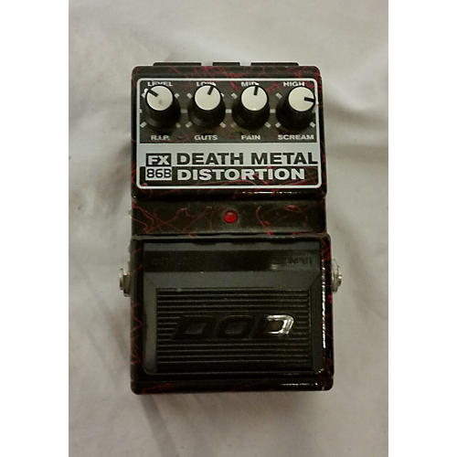 used dod death metal effect pedal guitar center. Black Bedroom Furniture Sets. Home Design Ideas