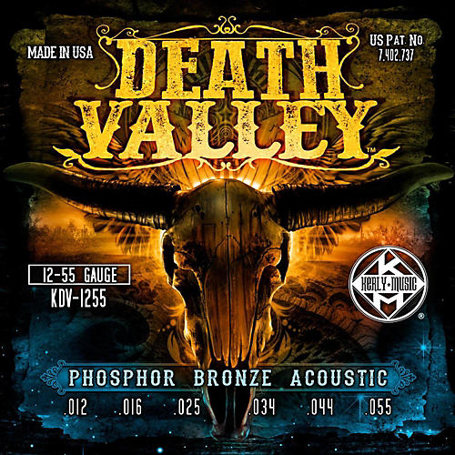 Kerly Music Death Valley Acoustic Guitar Strings (12-55)-thumbnail