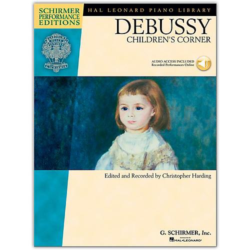 G. Schirmer Debussy - Children's Corner Piano Schirmer Performance Edition Book/CD By Debussy / Harding