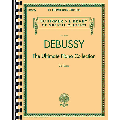 G. Schirmer Debussy - The Ultimate Piano Collection-thumbnail