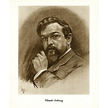 Music Sales Debussy (Lupas Large Portrait Poster) Music Sales America Series