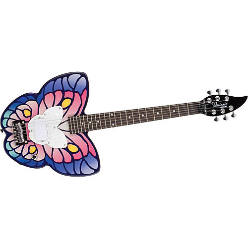 Daisy Rock Debutante Butterfly Short-Scale Electric Guitar-thumbnail