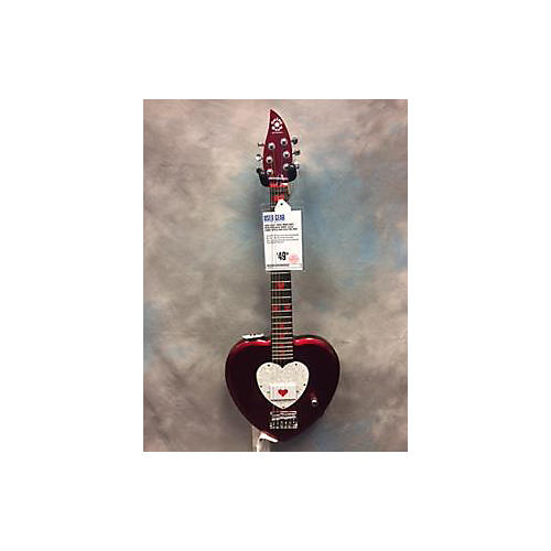 Daisy Rock Debutante Heartbreaker Short Scale Electric Guitar-thumbnail