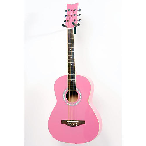 Daisy Rock Debutante Junior Miss Acoustic Guitar Pack Bubble Gum Pink 886830834332
