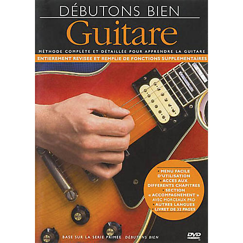 Music Sales Debutons Bien: La Guitare Music Sales America Series DVD Written by Arthur Dick
