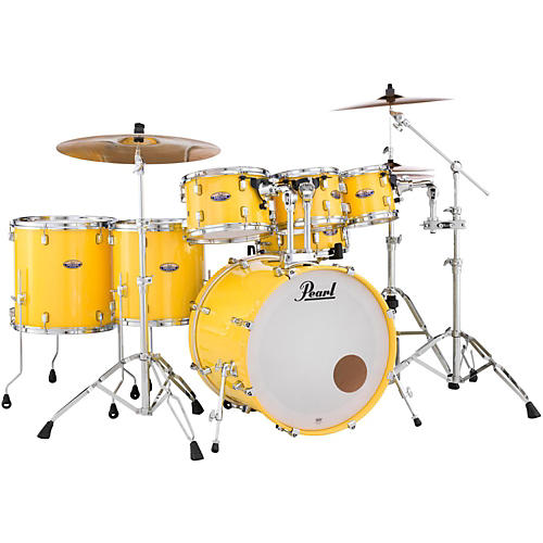 Pearl Decade Maple 7-Piece Shell Pack Solid Yellow
