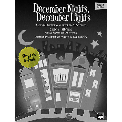 Alfred December Nights, December Lights:  Student 5 Pack-thumbnail