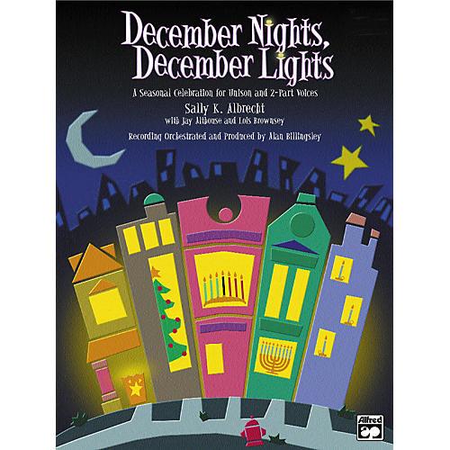 Alfred December Nights Lights Soundtrax CD