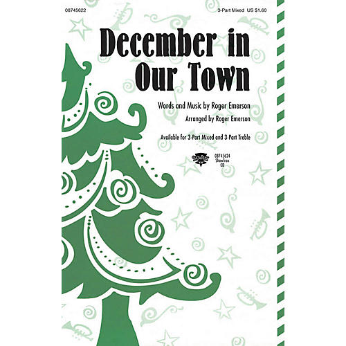 Hal Leonard December in Our Town 3 Part Treble