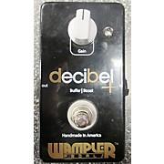 Wampler Decibel Boost Buffer Pedal