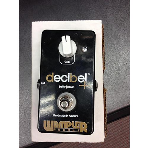 Wampler Decibel Plus Boost Buffer Effect Pedal-thumbnail