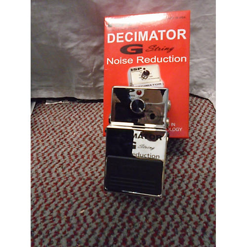 Isp Technologies Decimator G String Noise Reduction Effect Pedal-thumbnail