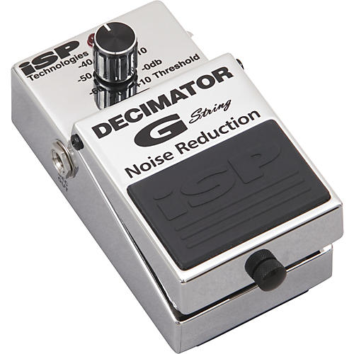 Isp Technologies Decimator G String Noise Reduction Guitar Effects Pedal