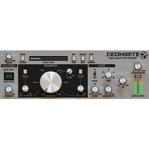 D16 Group Decimort -Premium grade bit crusher plug-in (VST/AU) Software Download-thumbnail