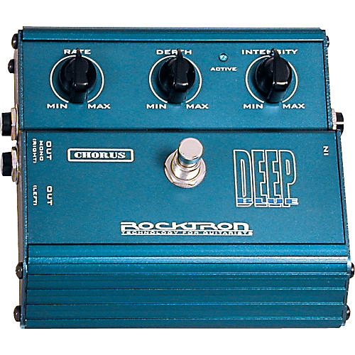 Rocktron Deep Blue Chorus Stomp Box