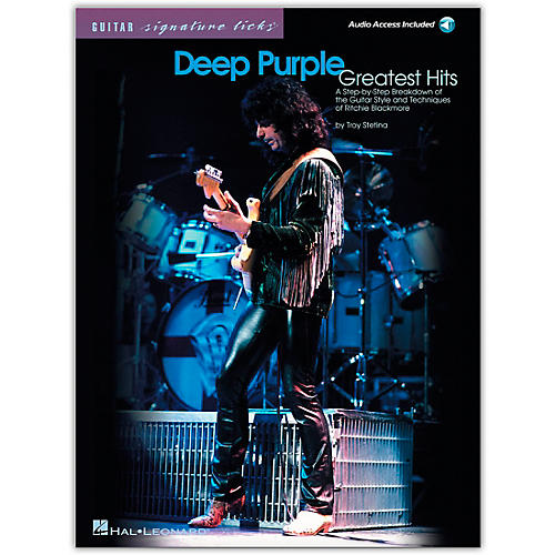 Hal Leonard Deep Purple Greatest Hits Guitar Signature Licks (Book/Online Audio)-thumbnail