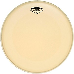 Aquarian Deep Vintage II Bass Drumhead with Super-Kick