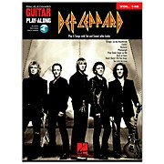 Hal Leonard Def Leppard Guitar Play-Along Volume 145 Book/CD