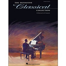 Hal Leonard Definitive Classical Collection for Piano Solo