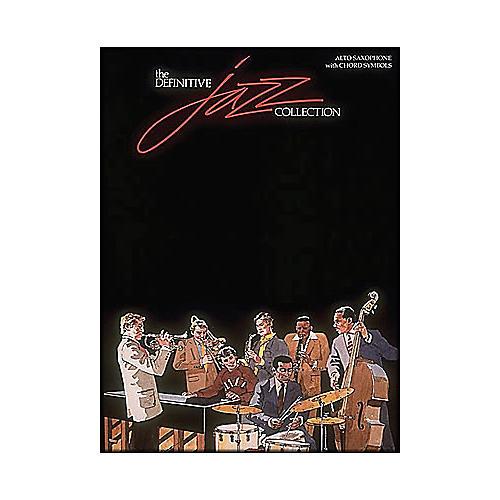Hal Leonard Definitive Jazz Collection Alto Saxophone with Chord Symbols