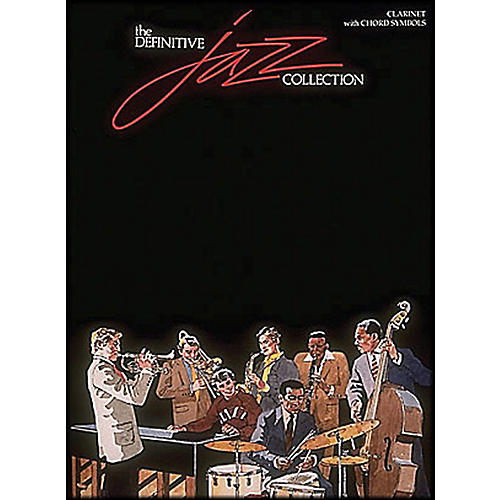 Hal Leonard Definitive Jazz Collection Clarinet with Chord Symbols-thumbnail