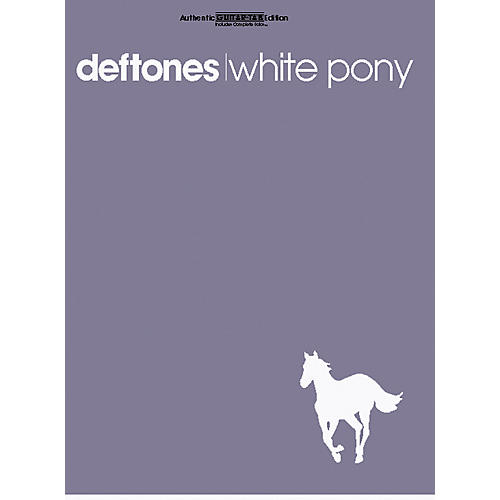 Alfred Deftones White Pony Guitar Tab Book-thumbnail