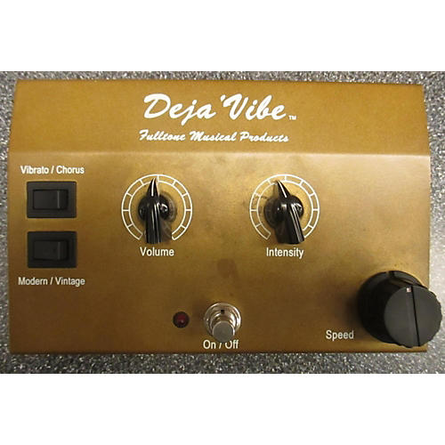 Fulltone Deja Vibe Gold Effect Pedal-thumbnail