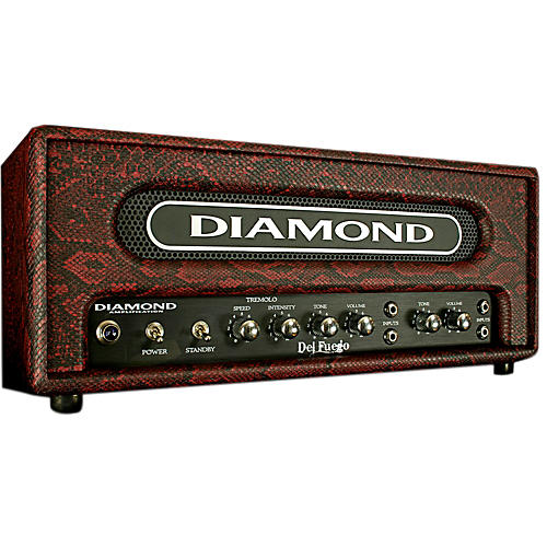 Diamond Amplification Del Fuego USA Custom Series 22W Tube Guitar Amp Head-thumbnail