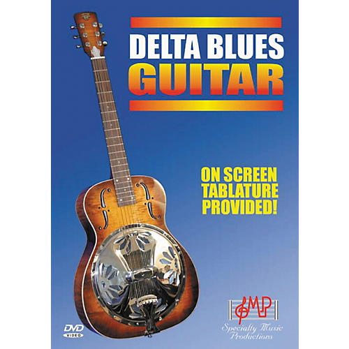Specialty Music Productions Delta Blues Guitar DVD-thumbnail