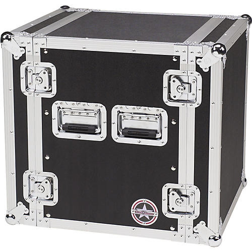 Road Runner Deluxe 12U Amplifier Rack Case-thumbnail