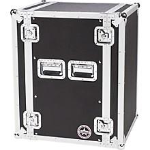 Road Runner Deluxe 16U Amplifier Rack Case Black