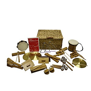 Rhythm Band Deluxe 25 Player Bamboo Rhythm Kit by Rhythm Band