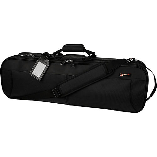 Protec Deluxe 4/4 Violin Pro Pac Case Black Exterior, Black Interior