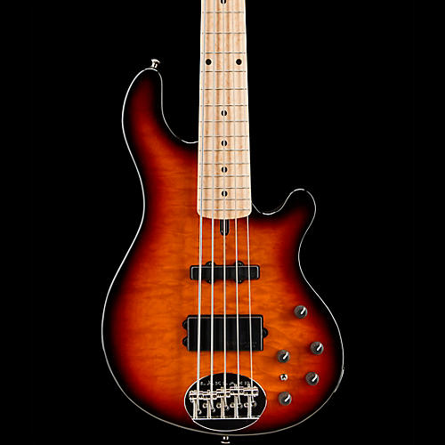 Lakland Deluxe 55-94 5-String Bass 3-Color Sunburst Maple Fretboard-thumbnail