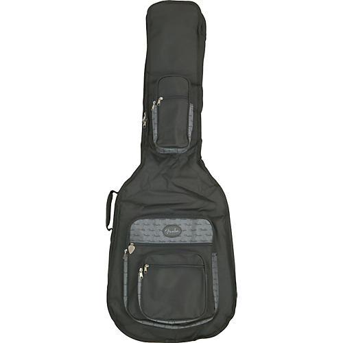 Fender Deluxe Acoustic Bass Guitar Gig Bag Black