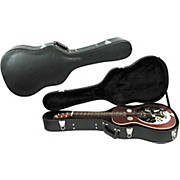 Musician's Gear Deluxe Archtop Hardshell Squareneck Guitar Case