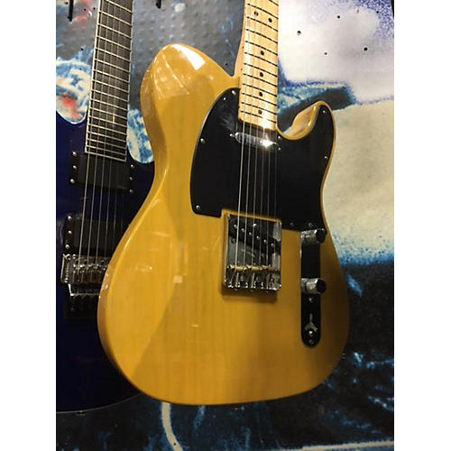 Fender Deluxe Ash Telecaster Solid Body Electric Guitar-thumbnail